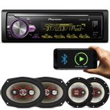 MP3-Player-Automotivo-Pioneer-MVH-X30BR-1-Din---Kit-Facil-Bravox-6-e-6x9-Pol-240W-RMS-connectparts---1-