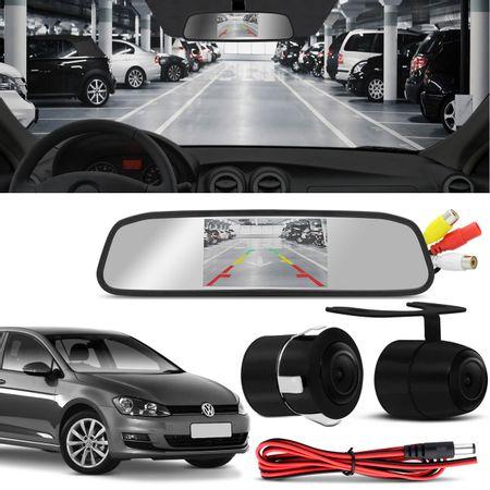 Kit-Retrovisor-Interno-LCD-4.3-Polegadas-12V-com-Camera-de-Re-Colorida-2-em-1-VW-Voyage-Golf-Polo-connectparts---1-