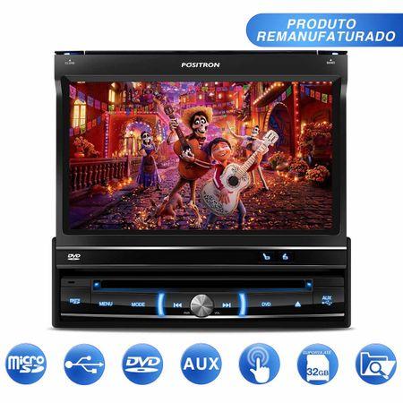 DVD-Player-Automotivo-Positron-SP6300AV-1-Din-7-Pol-Retratil-Touch-USB-SD-AUX-MP3-CD-AM-FM---OUTLET-connectparts---1-