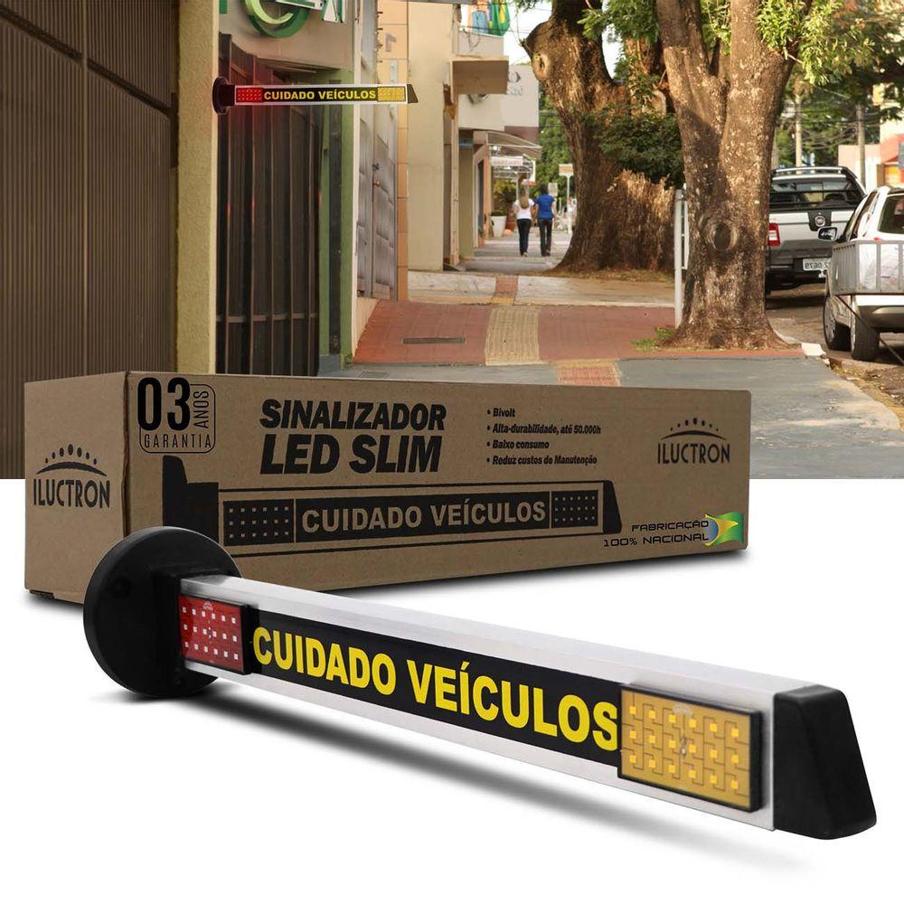 4e02a7403d497 Sinalizador de Garagem LED Slim Iluctron 3