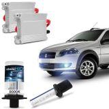 Kit-Lampada-Xenon-para-Farol-de-milha-Fiat-Palio-Weekend-Treking-2009-a-2013-h1-8000k-12v-35W-connectparts---1-