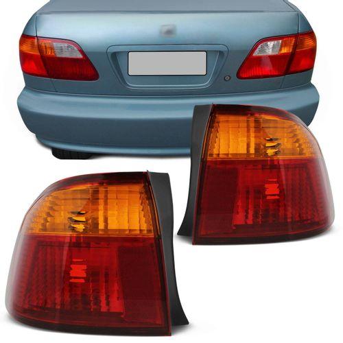 Par-Lanterna-Traseira-Honda-Civic-1999-2000-Bicolor-Ambar-Canto-connectparts---1-