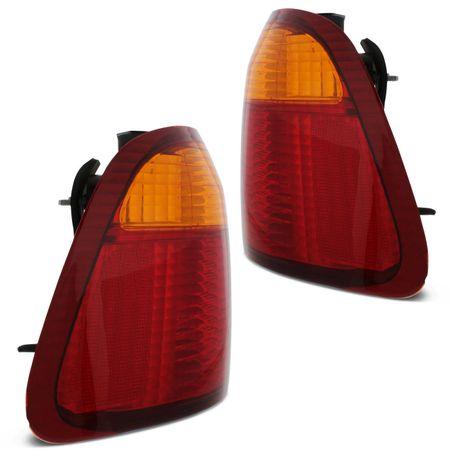 Par-Lanterna-Traseira-Honda-Civic-1999-2000-Bicolor-Ambar-Canto-connectparts---2-