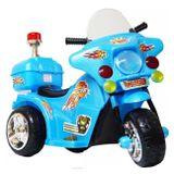 Mini-Moto-Eletrica-Infantil-Azul-6V-25-Quilometros-Por-Hora-Suporta-Ate-17Kg-connectparts