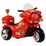 Mini-Moto-Eletrica-Infantil-Vermelha-6V-25-Quilometros-Por-Hora-Suporta-Ate-17Kg-connectparts