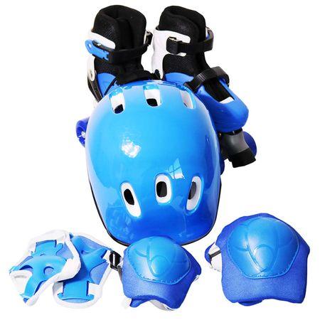 Patins-Infantil-4-Rodas-Roller-Azul-Com-Kit-De-Protecao-connectparts--2-