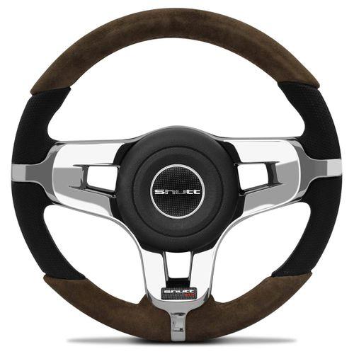 Volante-Mustang-Jetta-Alemao-Couro-Suede-Whisky-Superior-E-Inferior-Aplique-Cromado-Emblema-Gtr-connectparts--1-
