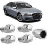 Jogo-4-Porcas-Antifurto-Cromadas-Roda-M14-x-15-Audi-A8-1998-a-2012--com-Chave-Segredo-connectparts---1-