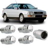 Jogo-4-Porcas-Antifurto-Cromadas-Roda-M14-x-15-Audi-S2-1992-a-1996--com-Chave-Segredo-connectparts---1-