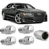 Jogo-4-Porcas-Antifurto-Cromadas-Roda-M14-x-15-Audi-S6-2010-a-2016--com-Chave-Segredo-connectparts---1-
