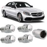 Jogo-4-Porcas-Antifurto-Cromadas-Roda-M14-x-15-Mercedes-Benz-CL-Class-2002-a-2017--com-Chave-Segred-connecparts---1-