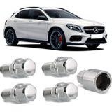 Jogo-4-Porcas-Antifurto-Cromadas-Roda-M14-x-15-Mercedes-Benz-Class-E-2002-a-2017--com-Chave-Segredo-connectparts---1-