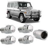 Jogo-4-Porcas-Antifurto-Cromadas-Roda-M14-x-15-Mercedes-Benz-Class-GL-2006-a-2016-com-Chave-Segredo-connectparts---1-