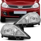 Par-Farol-Tiida-Hatch-Sedan-2007-2008-2009-2010-Mascara-Cromada-Foco-Simples-connectparts---1-