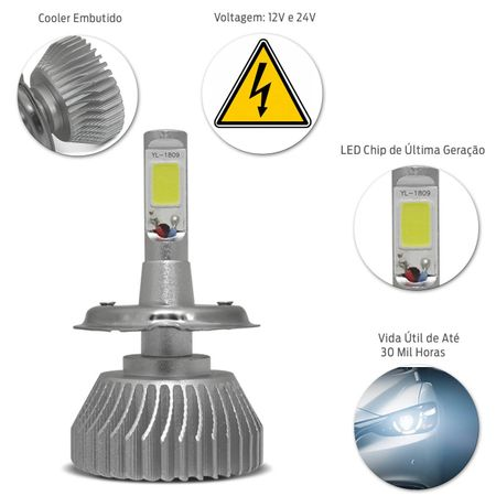 Kit-Lampada-Super-LED-H4-6000K-12V-e-24V-7400LM-Efeito-Xenon-Carro-Caminhao-Moto-connectparts--3-