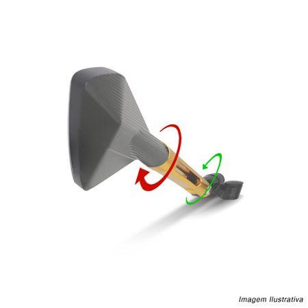 Retrovisor-5-Pentagonal-Dourado-Total-Metal-Espelho-Azul-Com-Suporte-connectparts---2-