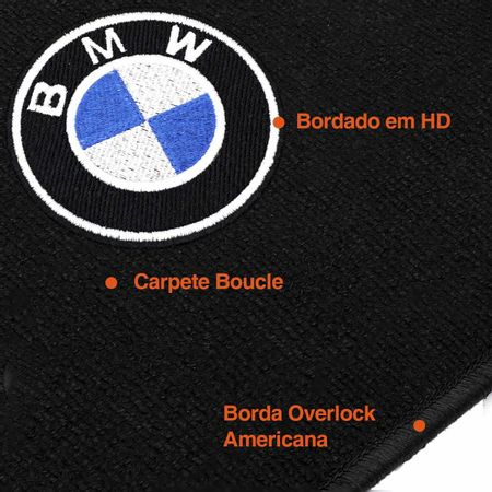 Jogo-Tapete-Premuim-12-Mm-Bucle-Bmw-Serie-3-X1-2008-A-2012-Preto-Overlock-Americano-connectparts--3-