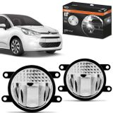 Par-Farol-de-Milha-LED-Citroen-C3-2009-a-2018-LEDriving-FOGLights-201-6000K-8W-12V-24V-Auxiliar-connectparts---1-