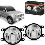 Par-Farol-de-Milha-LED-Pajero-Full-2007-a-2013-LEDriving-FOGLights-201-6000K-8W-12V-24V-Auxiliar-connectparts---1-