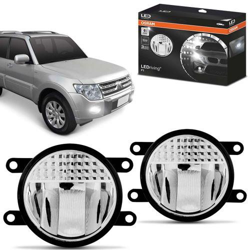 Par-Farol-de-Milha-LED-Pajero-Full-2007-a-2013-LEDriving-FOGLights-201-6000K-8W-12V-24V-Auxiliar-connectparts---1-