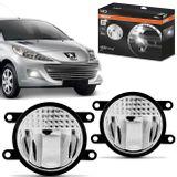 Par-Farol-de-Milha-LED-Peugeot-207-2006-2007-2008-2009-2010-LEDriving-FOGLights-201-6000K-Auxiliar-connectparts---1-