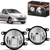 Par-Farol-de-Milha-LED-Peugeot-Hoggar-2010-2011-2012-2013-LEDriving-FOGLights-201-6000K-Auxiliar-connectparts---1-
