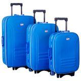 Jogo-De-Malas-Liso-Poliester-3-Tamanhos-P-M-G-Azul-Puxador-Com-Bussola-Cadeado-Embutido-connectparts--1-