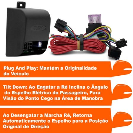 Modulo-assistente-de-manobra-para-retrovisores-plug-play-Peugeot-3008-PARK-1.61.10-CI-connectparts---2-