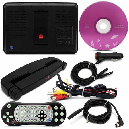 Par-Tela-Encosto-de-Cabeca-KX3-9-Pol-LCD-Acoplavel-Preto-DVD-USB-SD-MP3-MP4-Com-Controle-Remoto-connectparts---4-