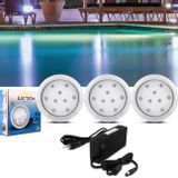 Kit-3-Luminarias-de-Piscina-12V-9W-Branco-Azul-110-Lumens---Controle-Remoto-Wireless-RGB-Fonte-60W-connectparts---1-