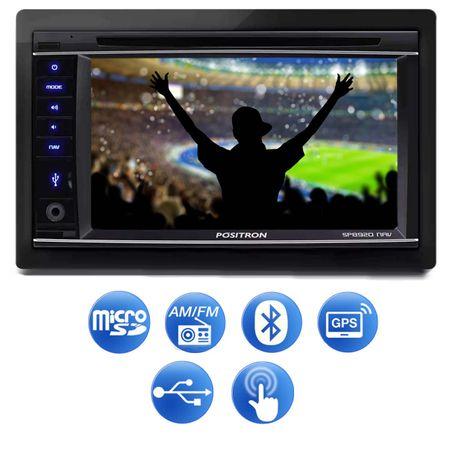 DVD-Player-Automotivo-Positron-SP8920-NAV-2-Din-62-Pol-Bluetooth-Espelhamento-GPS-TV---Camera-Re-connectparts---2-