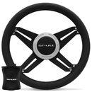 Kit-Volante-Shutt-X4B-Black-Anel-Prata-Acionador-Buzina-Emblema-Cromado-Cubo-Parati-Aluminio-connectparts--1-