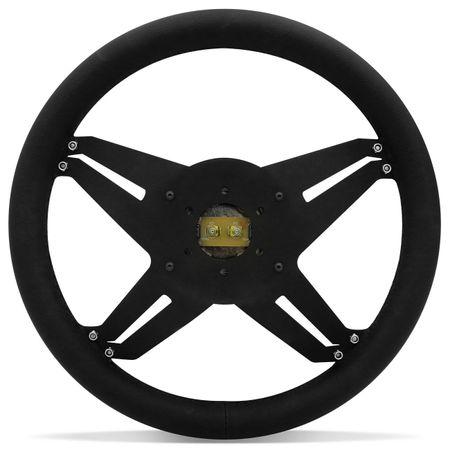 Kit-Volante-Shutt-X4B-Black-Anel-Prata-Acionador-Buzina-Emblema-Cromado-Cubo-Parati-Aluminio-connectparts--3-