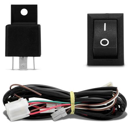 Kit-Farol-Milha-Gol-Parati-Saveiro-G4-06-a-14-Polo-03-a-06-Fox-03-a-09---Kit-Xenon-H3-6000K-Azulado-connect-parts--4-