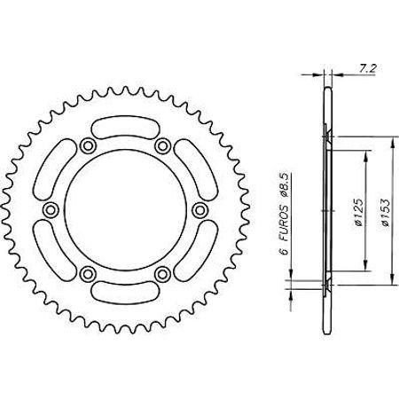Coroa-Temperada-Preta-HONDA-NXR150BROS-2005-A-2008-HA18.449TB-VAZ-Connect-Parts-2