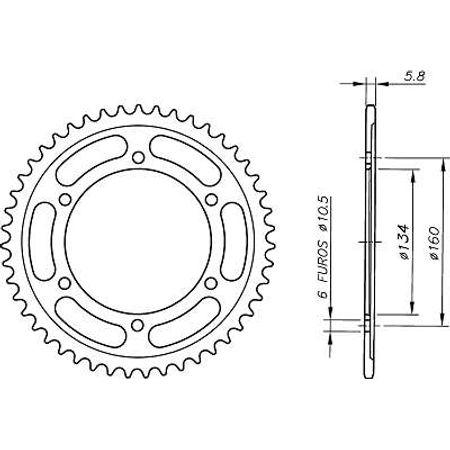 Coroa-Temperada-HONDA-CBR1000RR-FIREBLADE-520-2004-A-2009-HA20.141T-VAZ-Connect-Parts-2