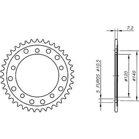 Coroa-Temperada-HONDA-CBR450RRL-Todos-Anos-HA09.139T-VAZ-Connect-Parts-2