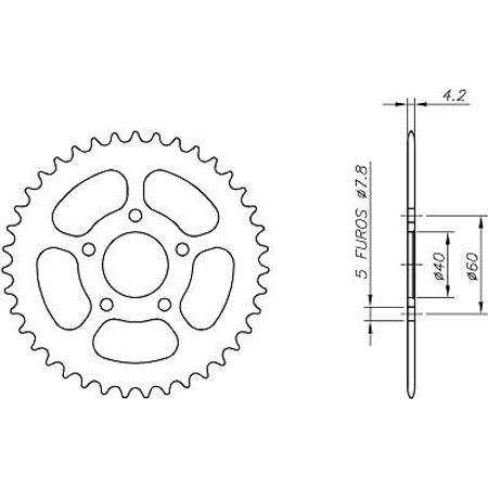 Coroa-LEM-LX1-50-MINI-MOTOCROSS-2004-A-2005-CA08.443-VAZ