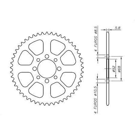 Coroa-SUZUKI-TS50KC-KM-1979-A-1979-SA09.145-VAZ-Connect-Parts-2