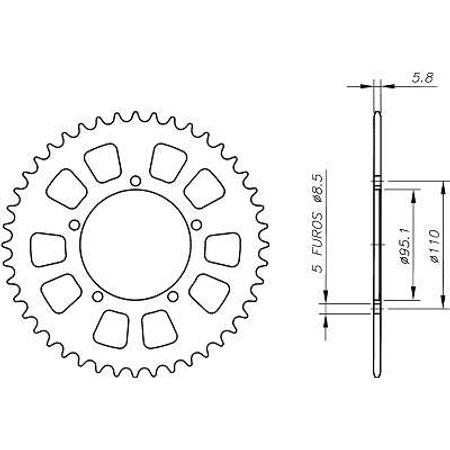 Coroa-Temperada-AGRALE-DAKAR190-Todos-Anos-AA01.240T-VAZ-Connect-Parts-2