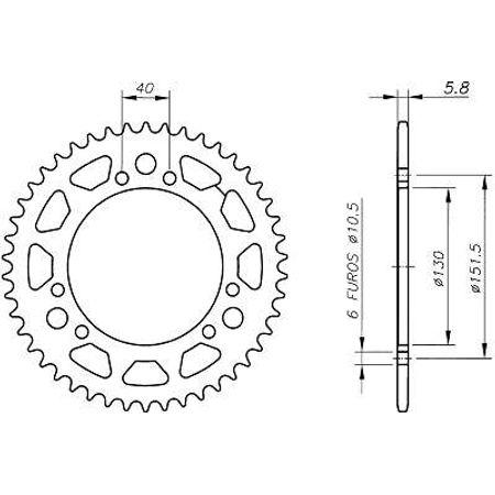 Coroa-Temperada-CAGIVA-CANYON500-1998-A-2001-CA02.343T-VAZ-Connect-Parts-2