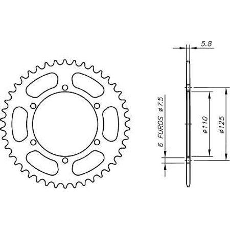 Coroa-Temperada-CAGIVA-FRECCIA125-C10-1988-A-1989-CA01.238T-VAZ-Connect-Parts-2