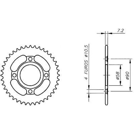 Coroa-Temperada-DAELIM-ALTINO125-2002-A-2004-DA03.438T-VAZ-Connect-Parts-2