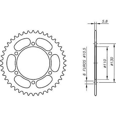 Coroa-Temperada-KAWASAKI-ER500A1-A4-C1-C4-ER-5-1997-A-2006-KA03.345T-VAZ-Connect-Parts-2
