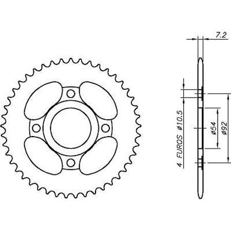 Coroa-Temperada-PEUGEOT-XPOWER-428-Todos-Anos-CA05.245T-VAZ-Connect-Parts-2