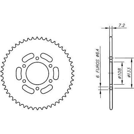 Coroa-Temperada-PEUGEOT-XR6-428-Todos-Anos-CA06.452T-VAZ-Connect-Parts-2