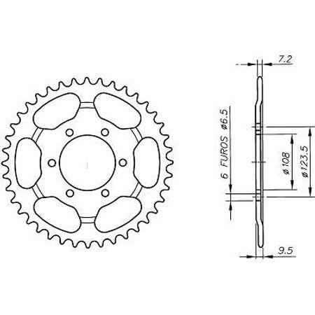 Coroa-Temperada-DERBI-GPR-428-1997-A-1999-DA09.244T-VAZ-Connect-Parts-2