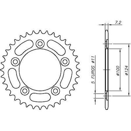 Coroa-Temperada-DUCATI-749-2003-A-2004-CA07.335T-VAZ-Connect-Parts-2