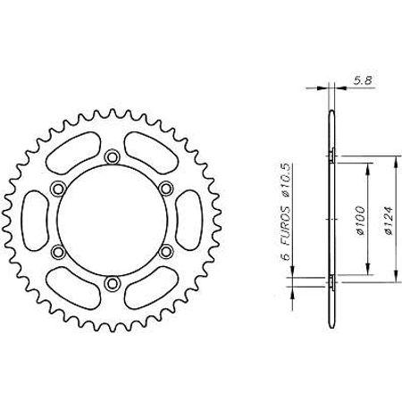 Coroa-Temperada-DUCATI-MONSTER600-1994-A-1994-CA01.536T-VAZ-Connect-Parts-2