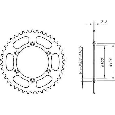 Coroa-Temperada-DUCATI-MONSTER916-S4-2001-A-2003-CA02.237T-VAZ-Connect-Parts-2